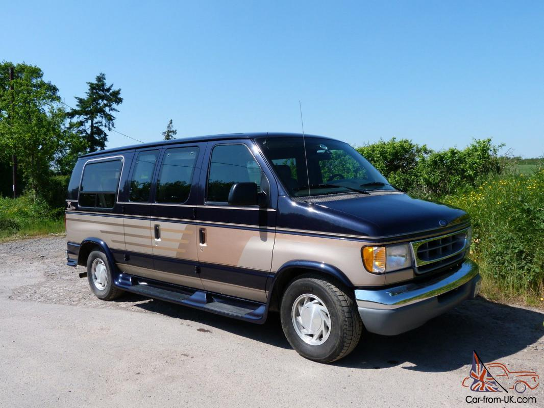 hight resolution of ford econoline e150 dayvan la west conversion 7 seater lpg photo