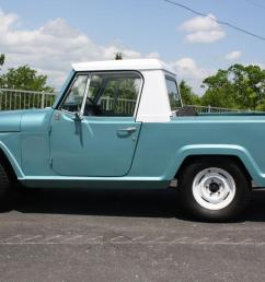 1969 kaiser jeep jeepster commando pickup 225v6 new paint ownership history 4x4 [ 1200 x 800 Pixel ]