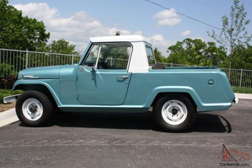 small resolution of 1969 kaiser jeep jeepster commando pickup 225v6 new paint ownership history 4x4