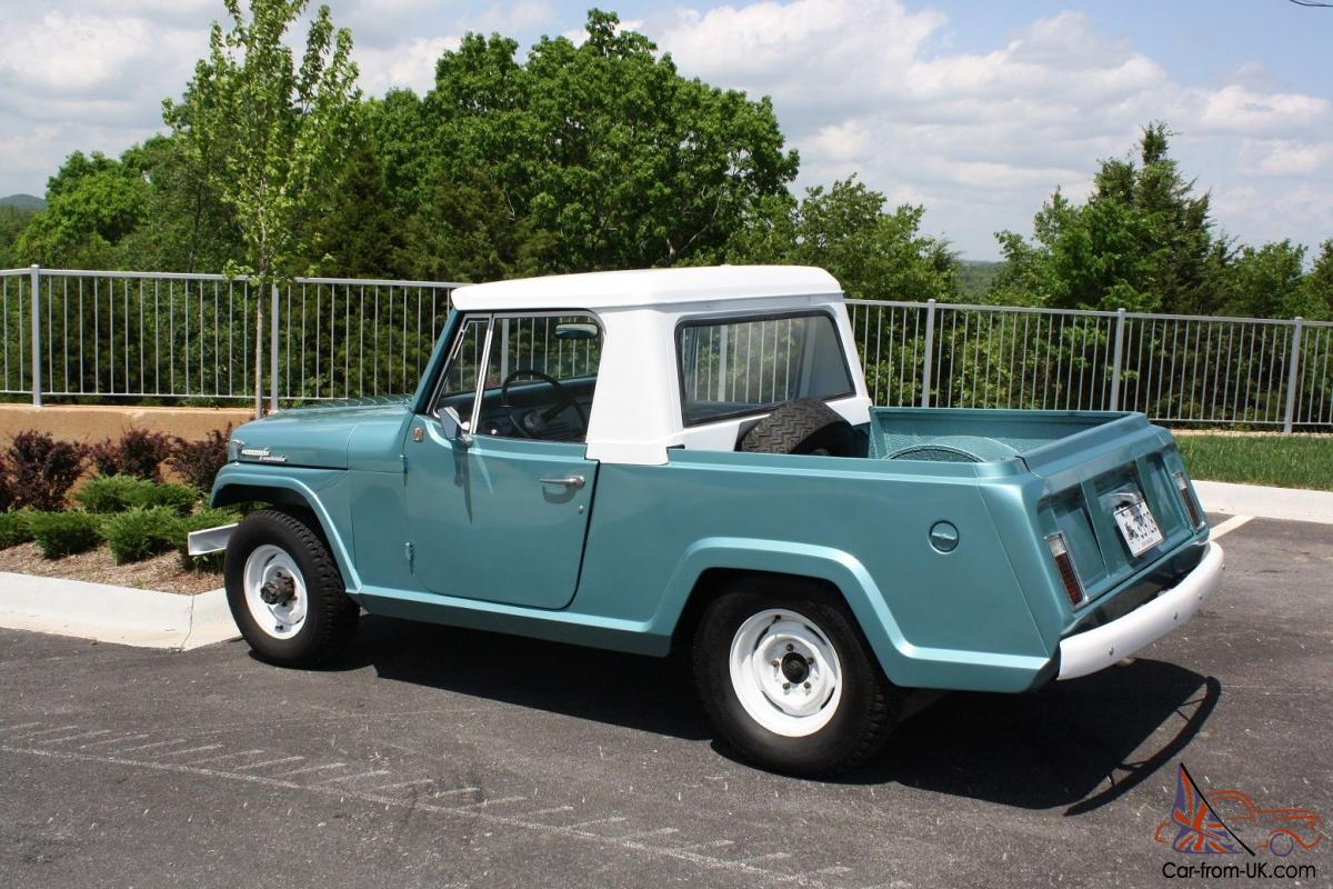 hight resolution of 1969 kaiser jeep jeepster commando pickup 225v6 new paint ownership history 4x4