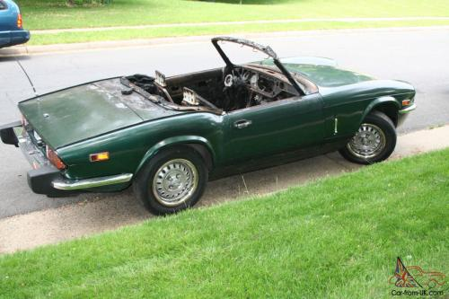 small resolution of 1978 triumph spitfire base convertible 2 door 1 5l photo