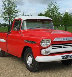 1958 chevrolet apache v8 pickup truck [ 1066 x 800 Pixel ]