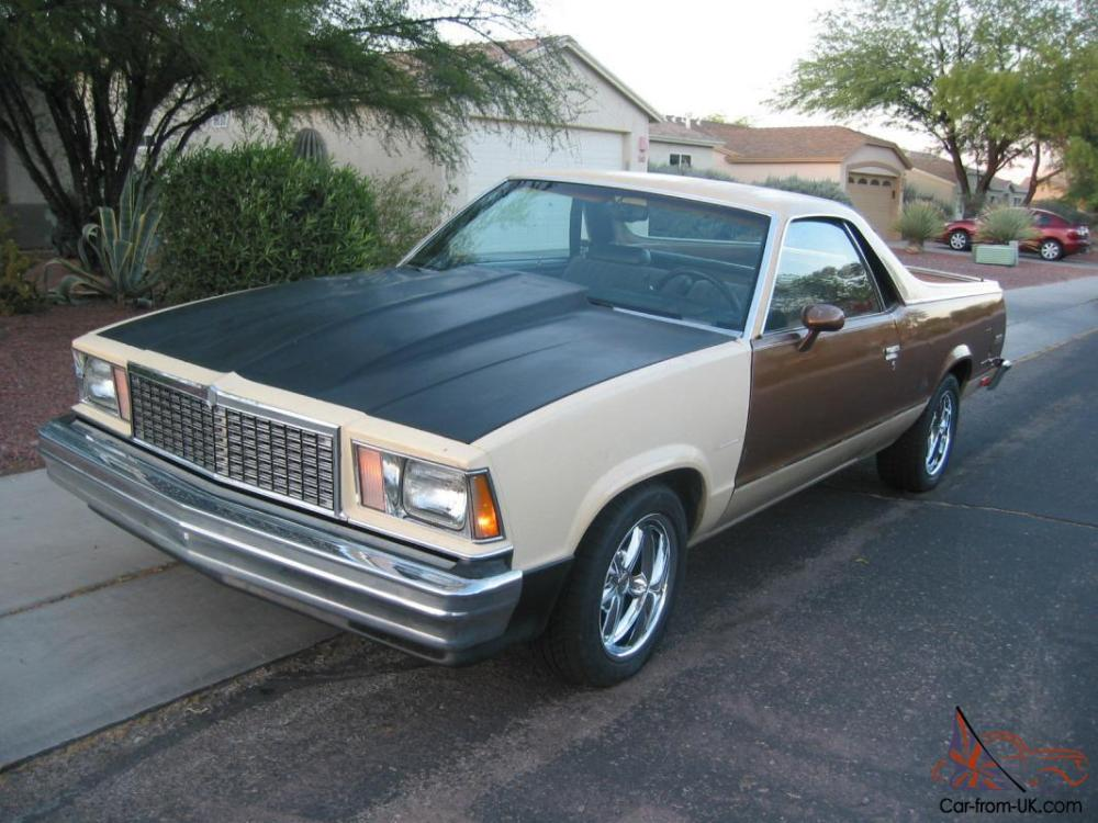 medium resolution of 1978 chevrolet el camino classic with sbc 409 v8 and 9 ford rear end photo