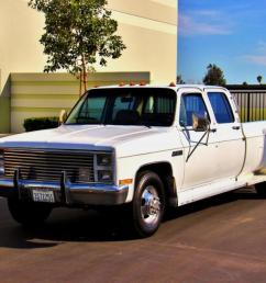 1987 gmc sierra 3500 crew cab dually 1 owner clean certified photo [ 1201 x 800 Pixel ]