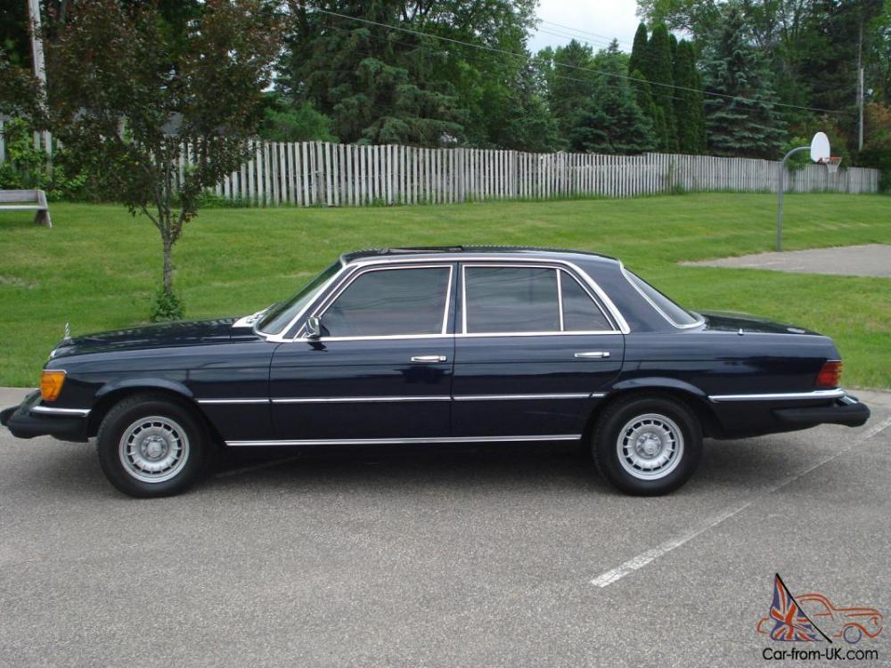 medium resolution of 1979 mercedes benz 300sd rare w116 turbo diesel 78k miles sunroof photo