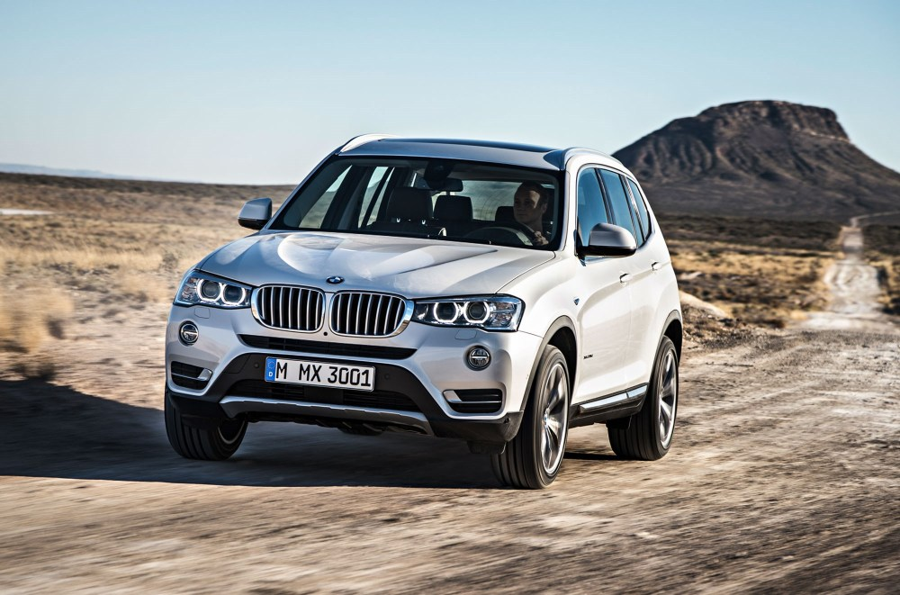 medium resolution of the bmw x3 was given a light facelift in the second half of 2014