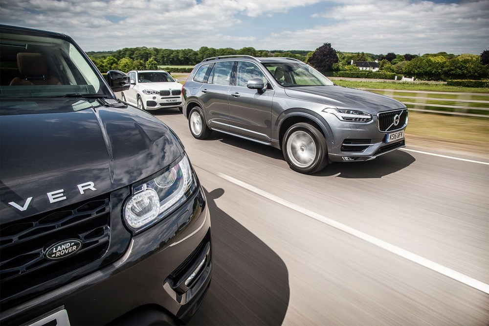 medium resolution of xc90 s bold new face will define the next wave of volvos have to admit it looks minty fresh volvo xc90 makes range rover sport