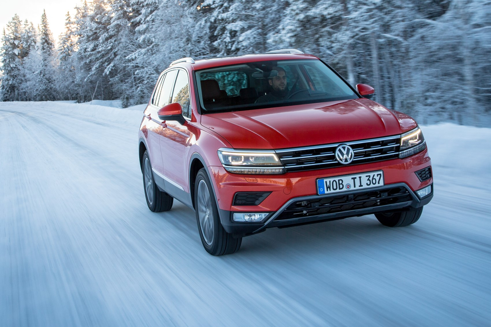 Ice To Meet You First Off Road Drive In The New 2016 Vw Tiguan Car Magazine