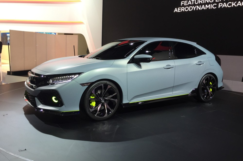 medium resolution of new 2017 honda civic prototype unveiled in geneva