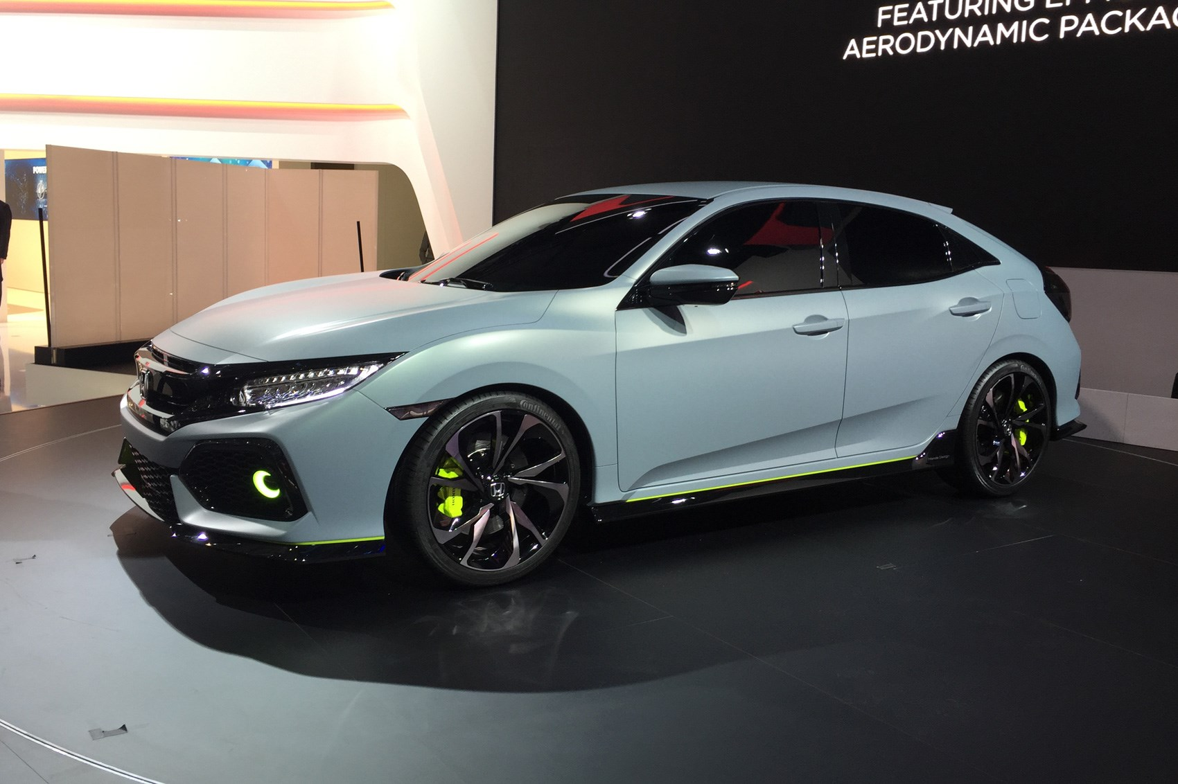 hight resolution of new 2017 honda civic prototype unveiled in geneva
