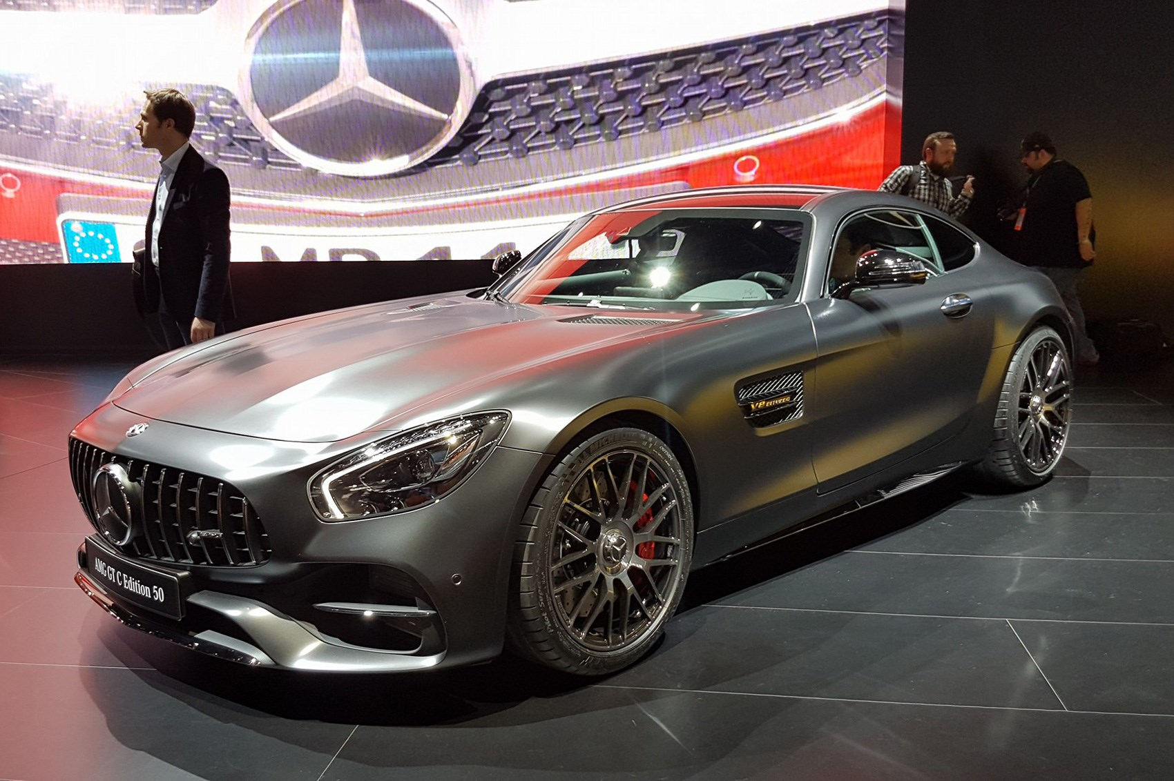 Mercedesamg Gt Range Gets More Power And Fourwheel Steer