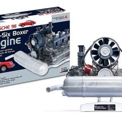 the flat six porsche model engine on test  [ 1500 x 920 Pixel ]