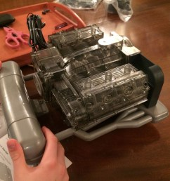 1 4 scale flat six porsche engine great for kids and grown ups alike  [ 1557 x 1168 Pixel ]