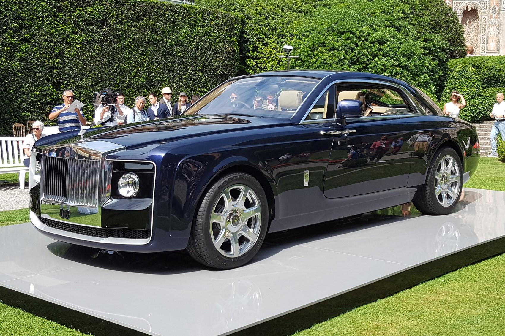Rollsroyce Sweptail 'probably The Most Expensive Car