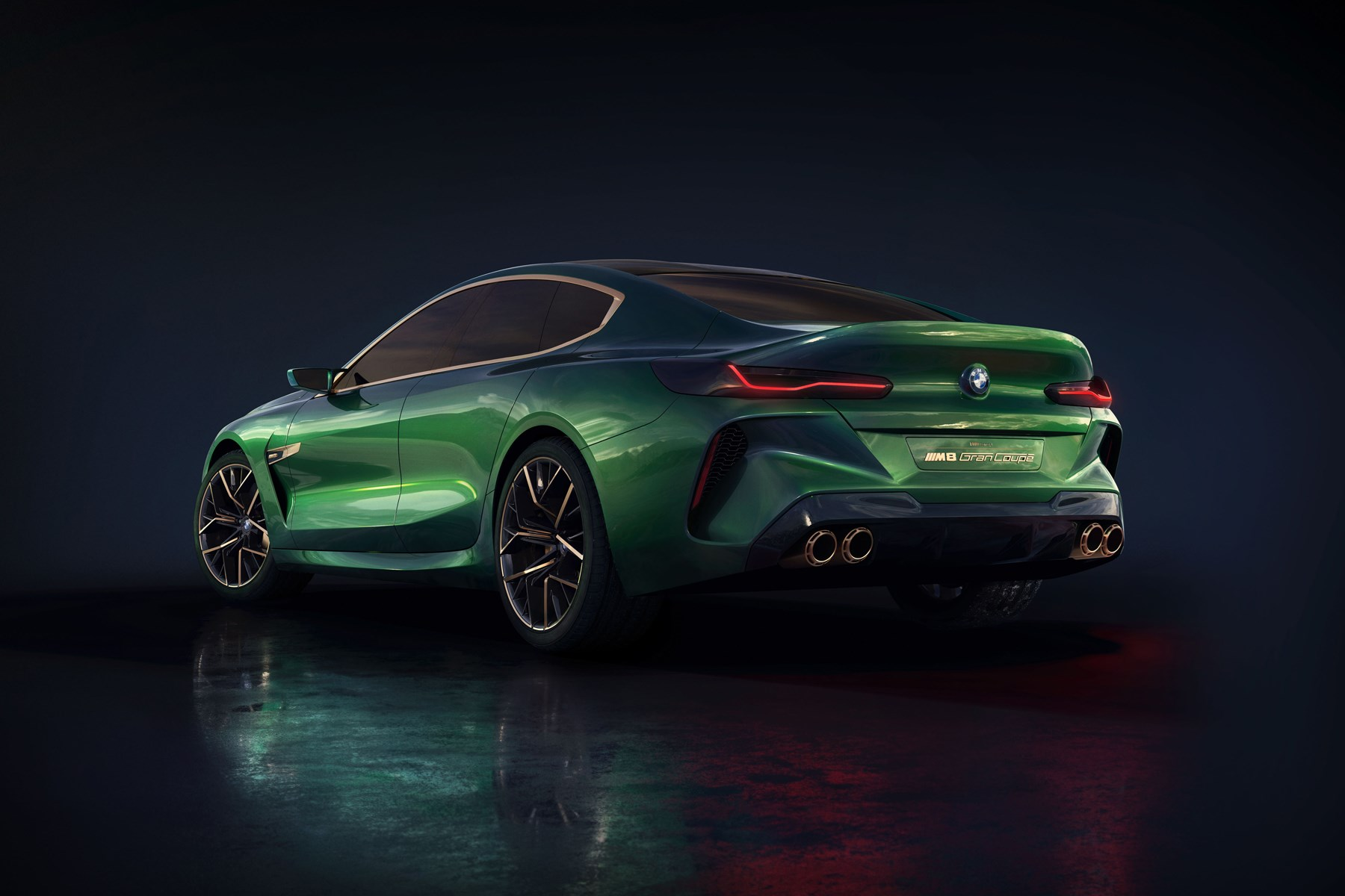 hight resolution of bmw concept m8 gran coupe bmw concept m8 gran coupe rear three quarter