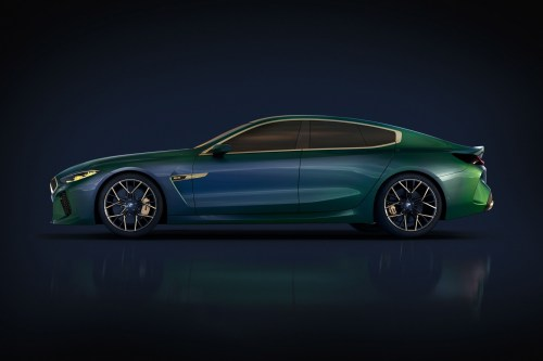 small resolution of  bmw concept m8 gran coupe side profile