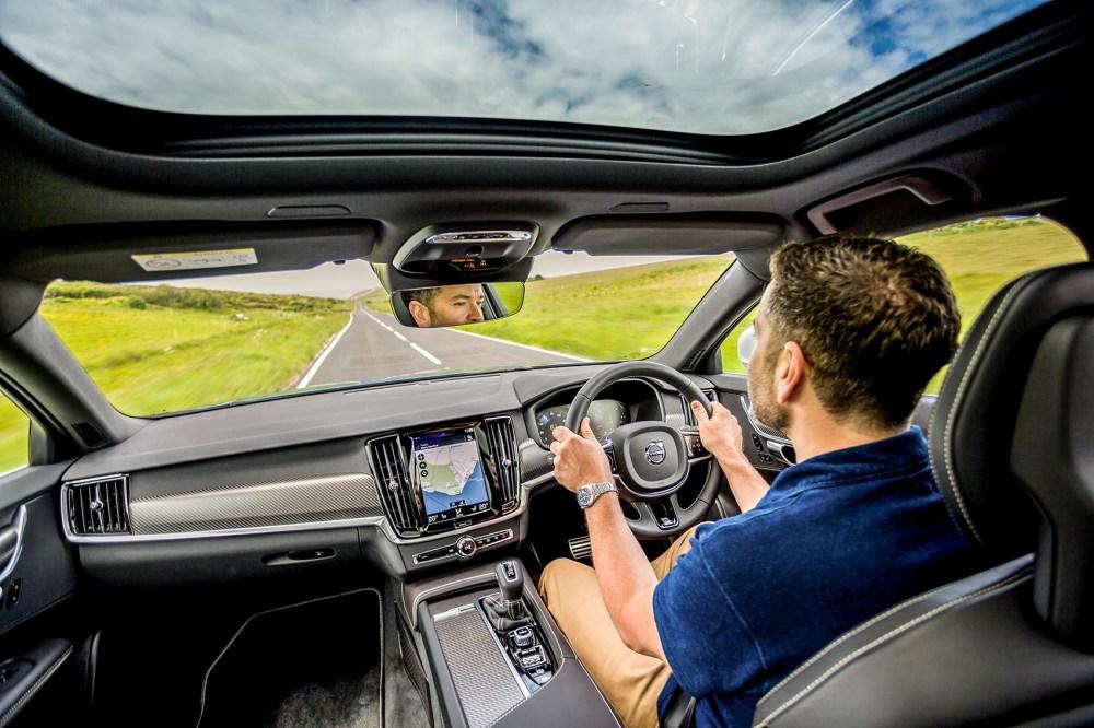 medium resolution of  ben oliver driving the car magazine volvo v90