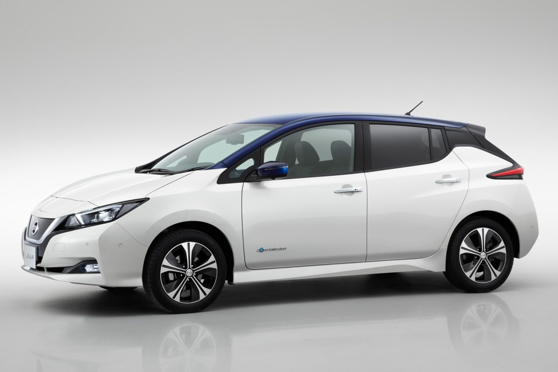 new nissan leaf: 2019 model with 200 mile range coming this year