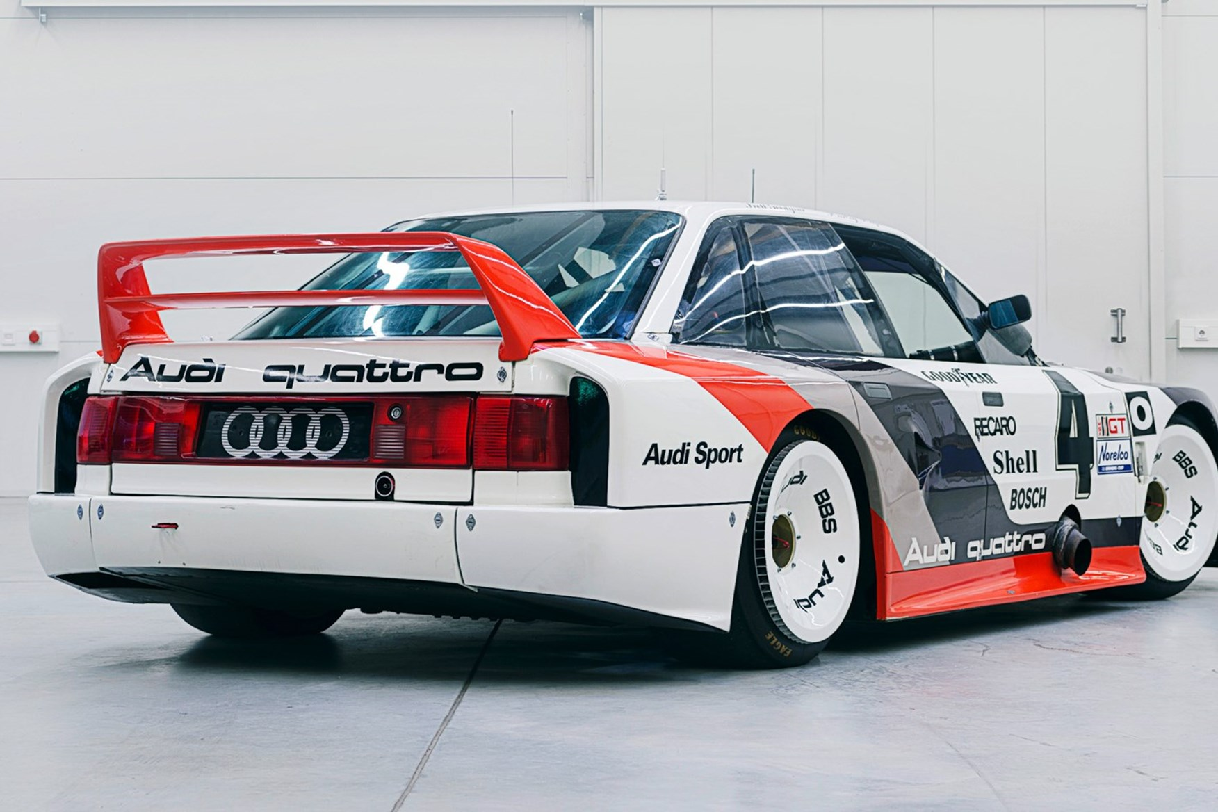 80s Car Wallpaper Audi Tt Clubsport Turbo Concept At Sema 2017 Pictures And