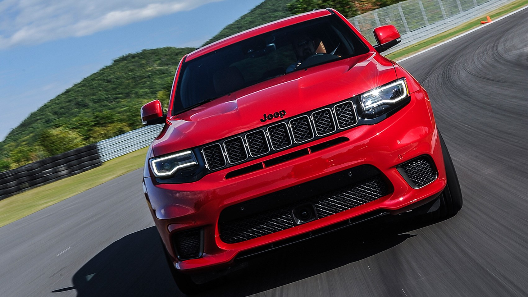 hight resolution of jeep grand cherokee trackhawk front end tracking