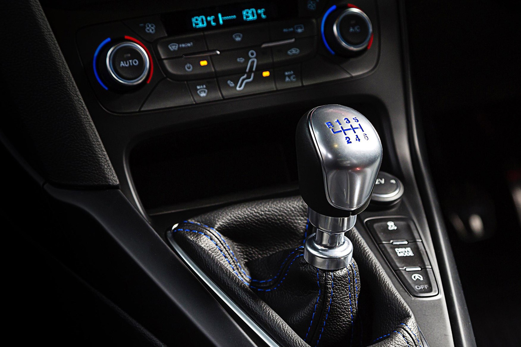 medium resolution of  six speed manual gearbox keeps the diy alive in the new ford focus rs