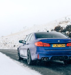 despite all that fresh air in its face the new bmw m5 is really quite a subtle understated car and from a distance you could mistake it for a 540i m  [ 1752 x 985 Pixel ]