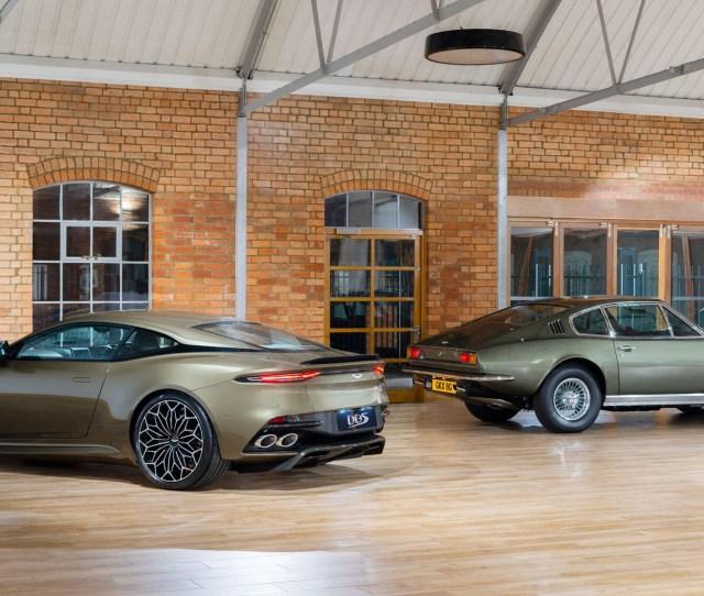 Aston Martin Dbs Superleggera Gets James Bond Edition