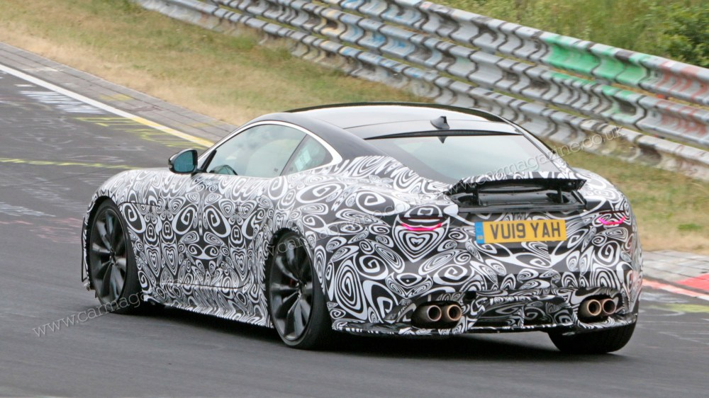 medium resolution of new 2020 jaguar f type spied testing at the ring