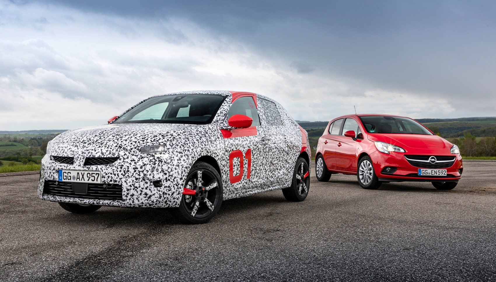 hight resolution of vauxhall corsa pre production old car