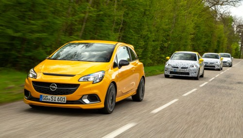 small resolution of vauxhall corsa pre production convoy