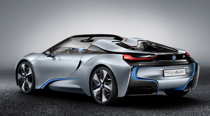 Bmw I8 Spyder Concept Car 2012 First Pictures Car Magazine