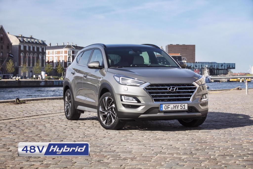Το Hyundai Tucson 48V Hybrid διαθέσιμο από 24.990€
