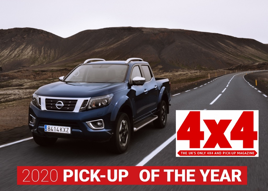 Pick-up της Χρονιάς 2020 το Nissan Navara