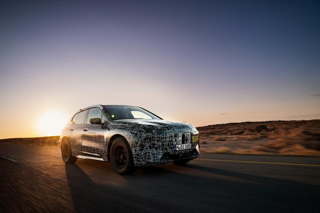 Η BMW iNEXT σε δοκιμές απαιτήσεων