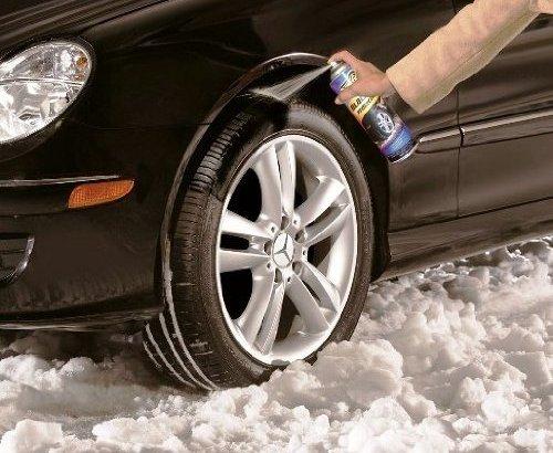 お手軽スプレー式タイヤチェーンの効果とチェーン規制は大丈夫?