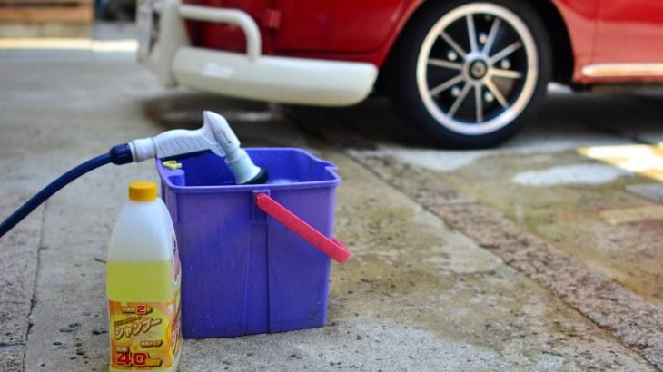 新車や黒系を傷つけない洗車方法は?洗う手順や洗車用品は?
