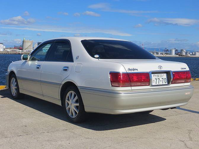 2003 Toyota Crown JZS175 Royal Saloon For Sale Japanese