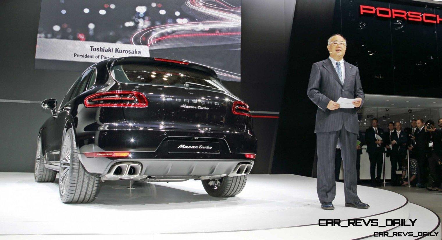 2014 Porsche Macan Turbo and Macan S - Official Debut Photos18
