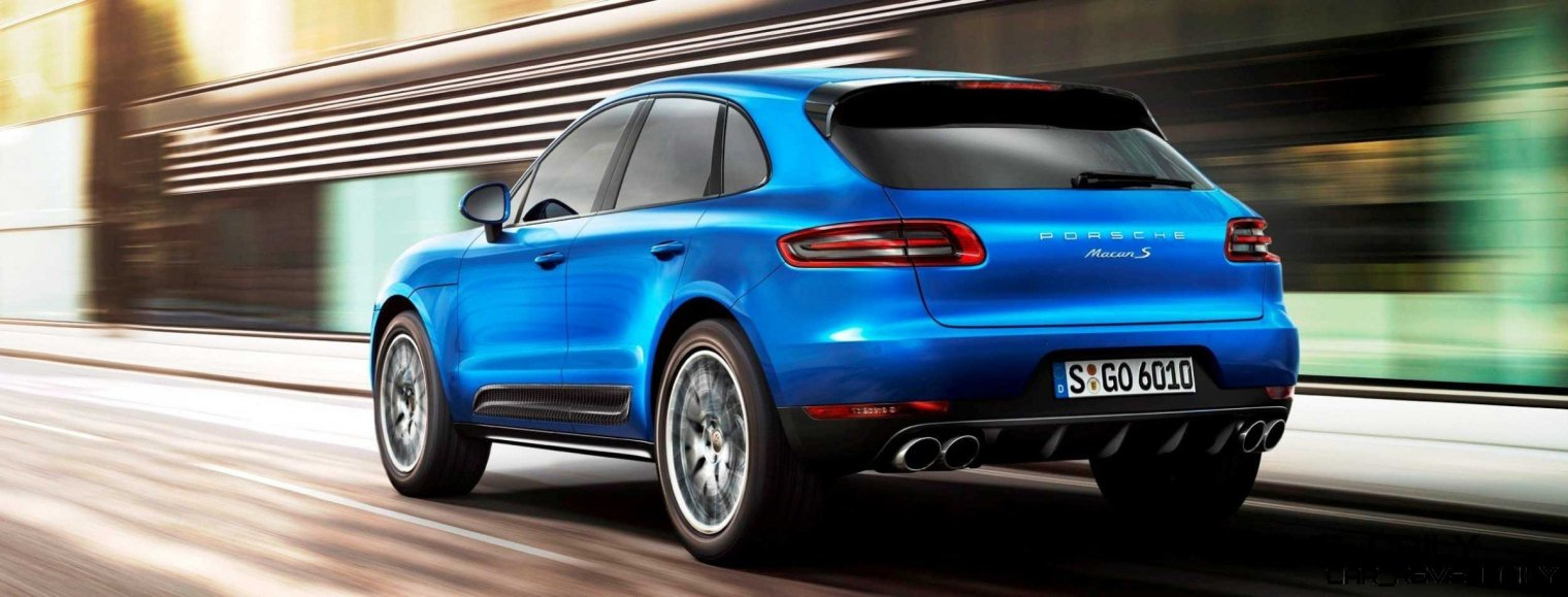 2014 Porsche Macan Turbo and Macan S - Official Debut Photos3