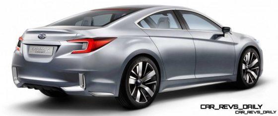 2015 Subaru Legacy Concept Directly Previews Next LGT6