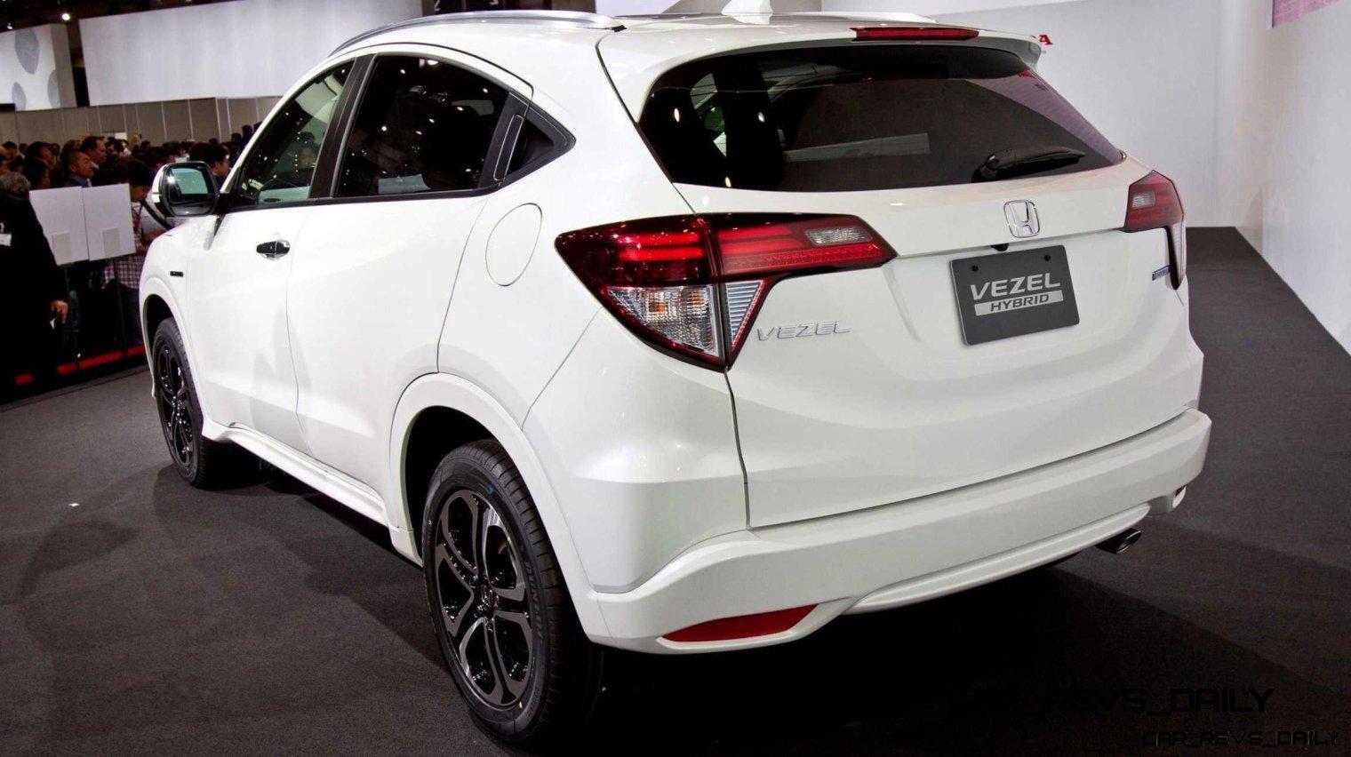 Cool! 2015 Honda Vezel Hybrid Previews Spring 2014 Civic CUV5