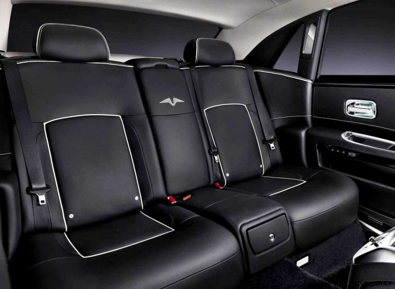 2014 Rolls-Royce Ghost V-Spec Adds Power + Dark Glamour to SWB and LWB 4-Doors 5