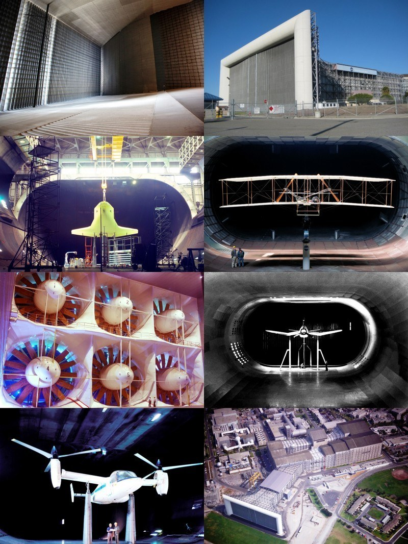 Ames NASA Wind Tunnel