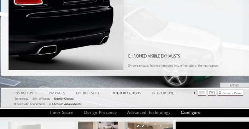 CarRevsDaily.com - 2014 Ghost V-Specification Builder With Exterior and Int Color Samples 44