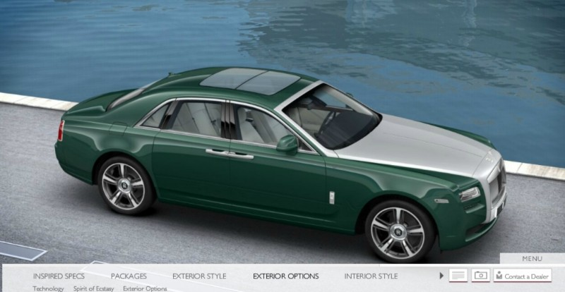 CarRevsDaily.com - 2014 Ghost V-Specification Builder With Exterior and Int Color Samples 57