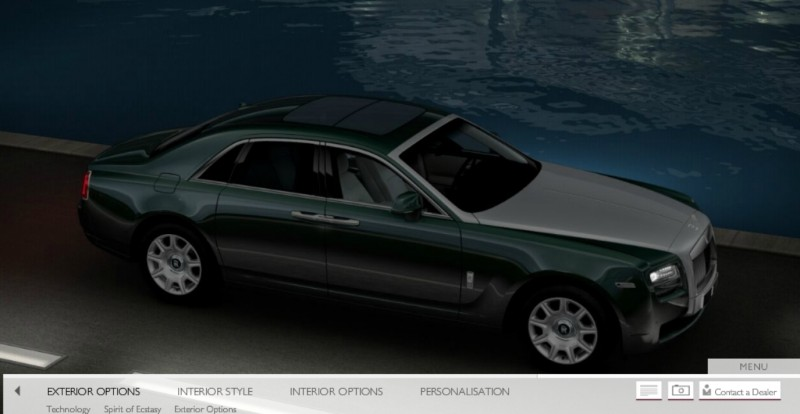 CarRevsDaily.com - 2014 Ghost V-Specification Builder With Exterior and Int Color Samples 66