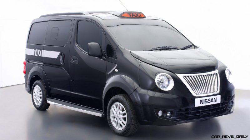 CarRevsDaily.com - Future Taxi Faceoff - Nissan Taxi4London vs BM TX4 vs Ford Transit Connect 15