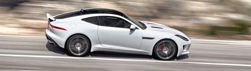 Jaguar Makes a WINNER!  2015 F-type R Coupe Debut9