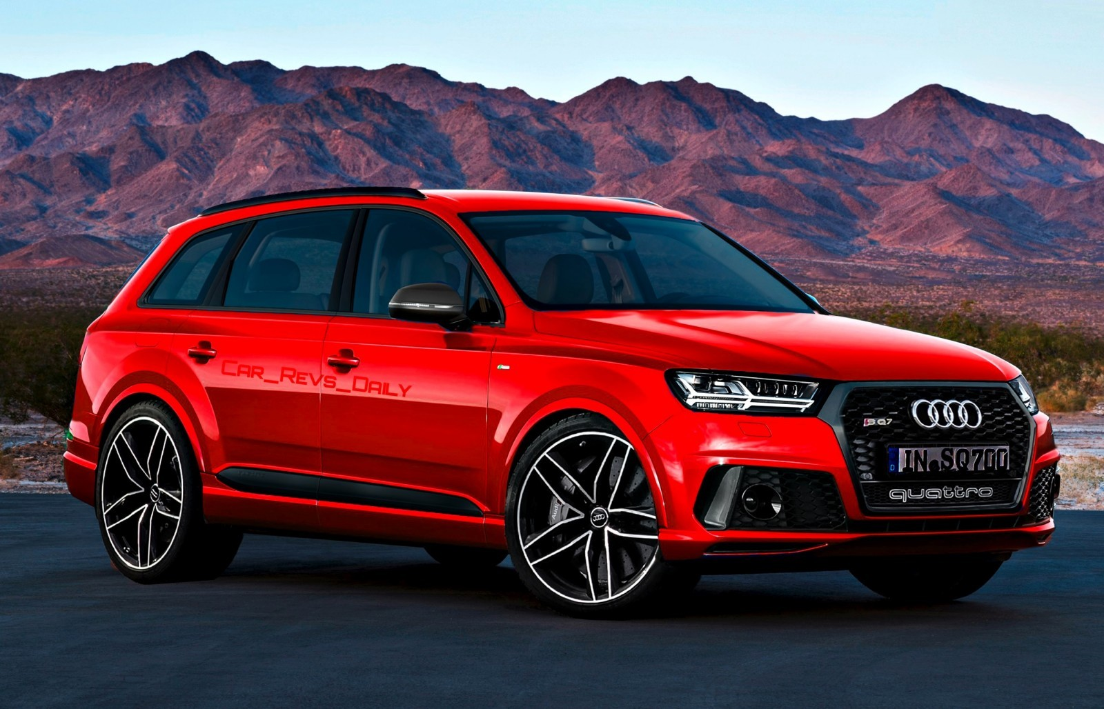 Future Suv Renderings  2016 Audi Rs Q7 10 » Carrevs