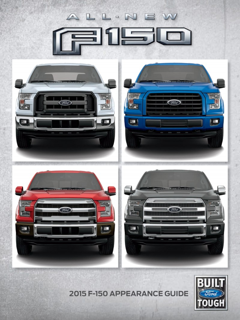 2014 Ford F 150 Stx Configurations : configurations, Update1, F-150, Style, Guide, Trims, Option, Packages
